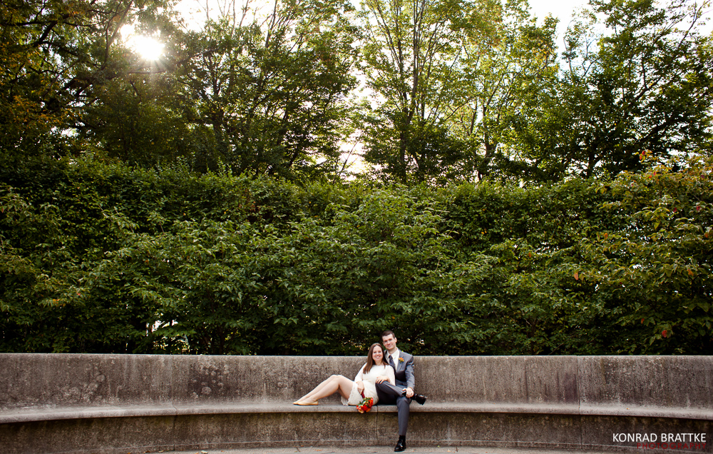 Brooklyn Botanical Garden Wedding