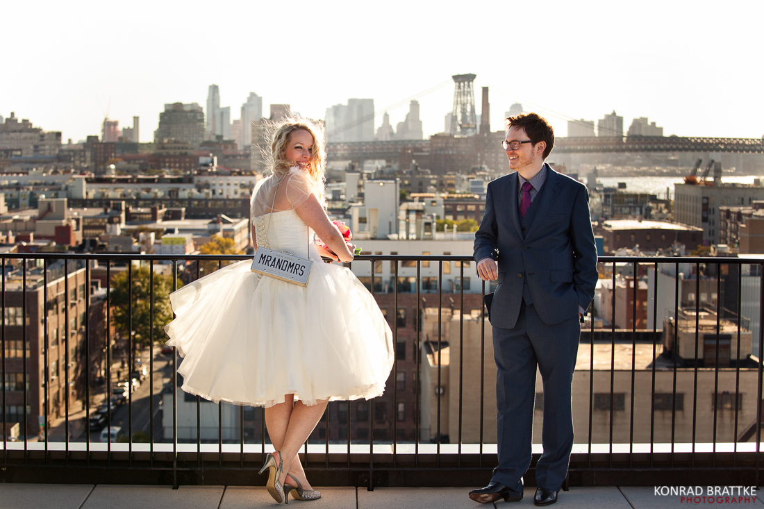 Exterior: Brooklyn Wedding Photographer