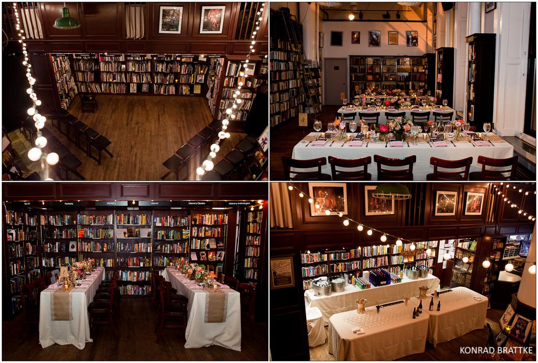 housing works bookstore wedding brooklyn photographer