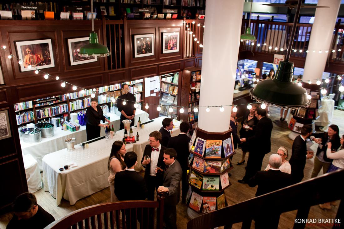 Best Wedding Venues in NYC faviana new york housing works bookstore
