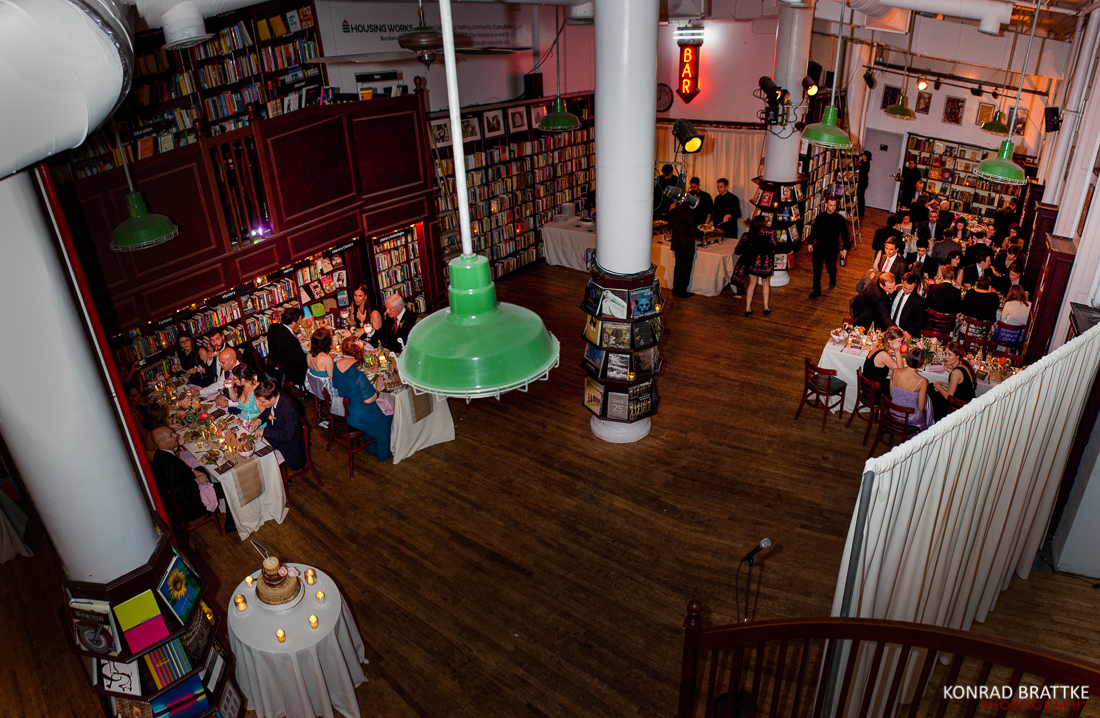 Housing Works Bookstore Wedding Brooklyn Photographer