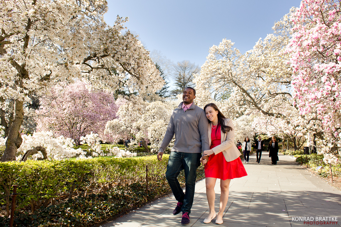 Brooklyn Botanic Garden Photoshoot