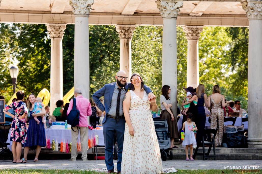 Prospect Park Wedding at the Peristyle