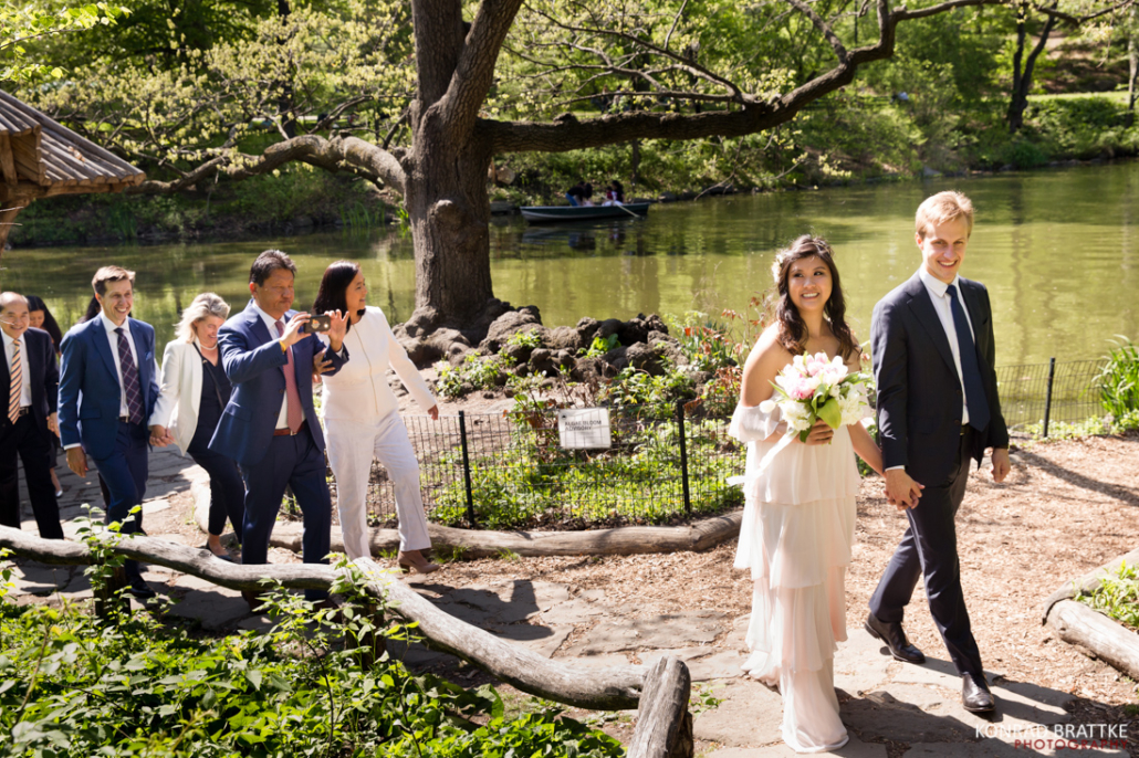 Central Park Elopement - Wagner Cove
