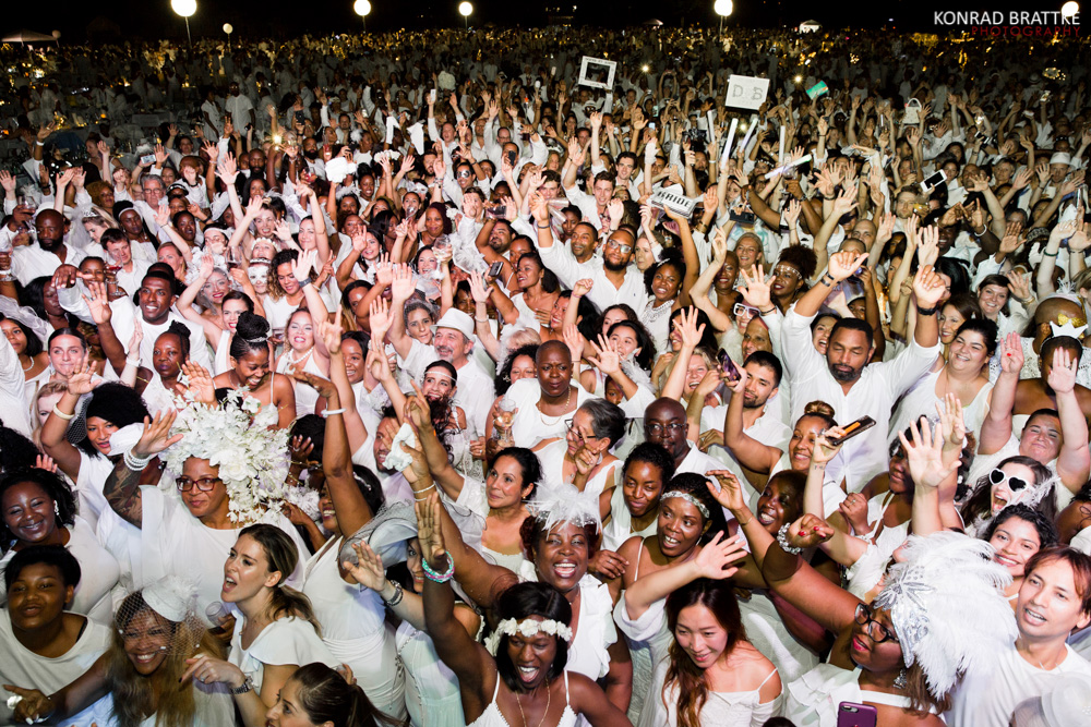 Diner En Blanc in New York in 2018