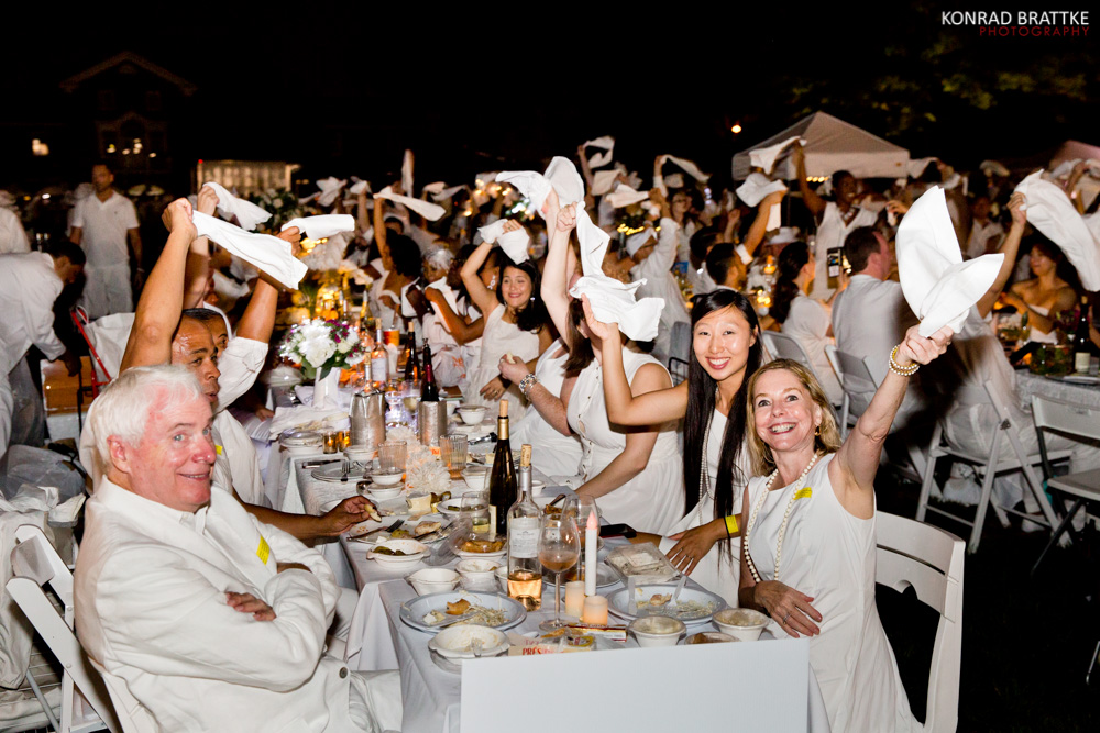 Diner En Blanc in New York City