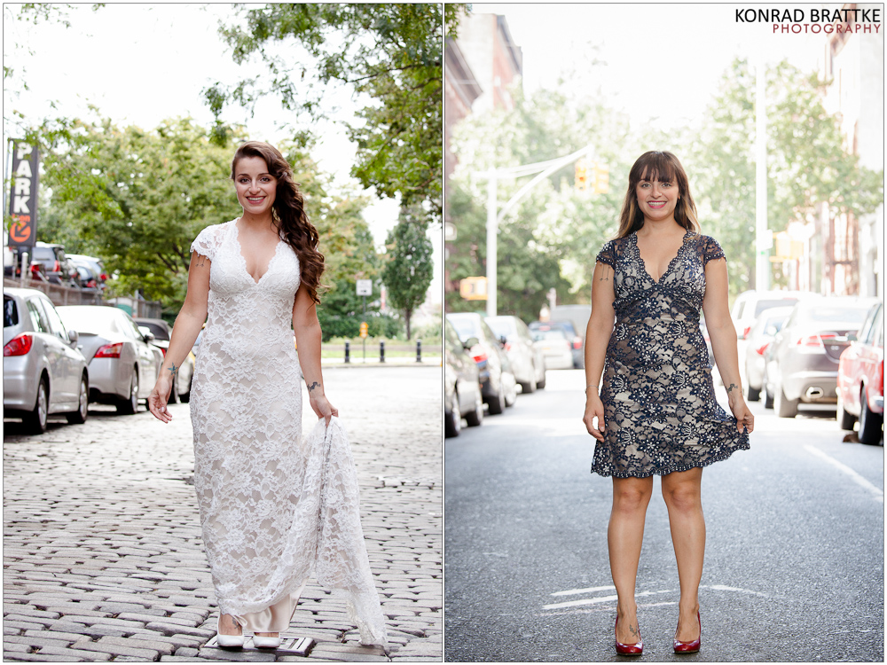 wedding dress transformed