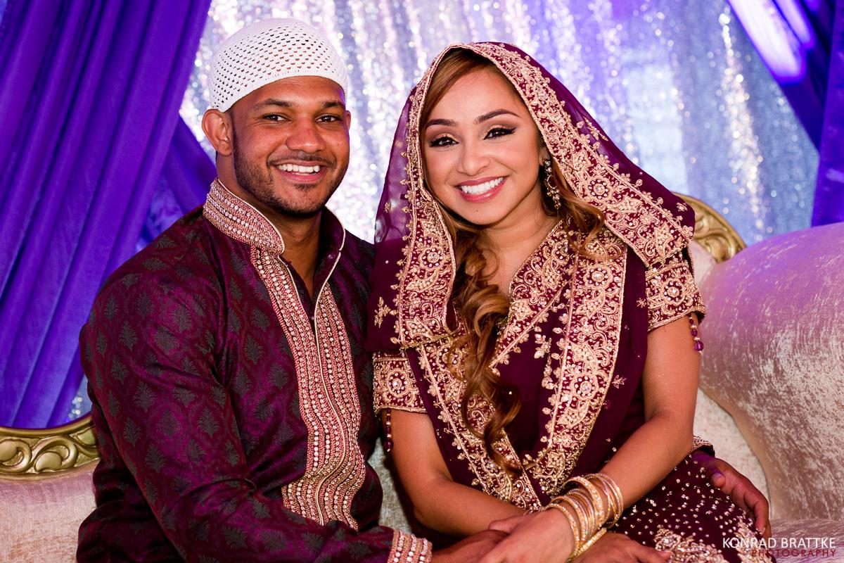 Sharda and Kennys Nikkah