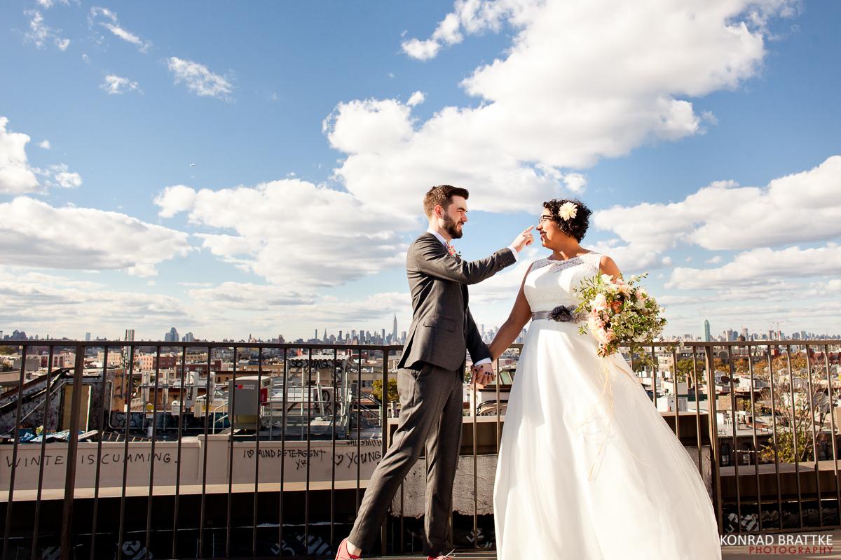 cozy Brooklyn wedding