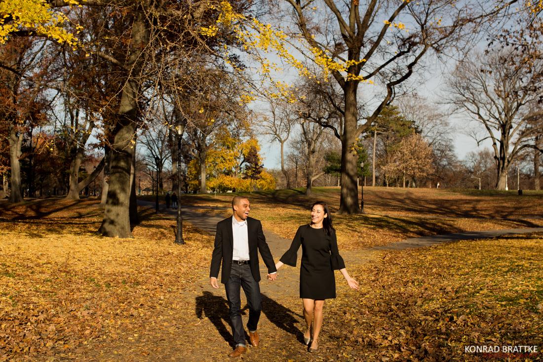 Prospect Park Engagement